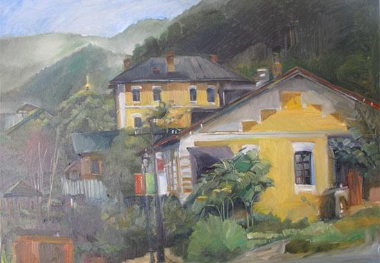 初级风景油画高清大图